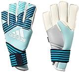 adidas Erwachsene ACE Trans FS Pro Torwarthandschuhe, Energy Aqua f17/energy s17/legend Ink f17/Trace Blue f17, 9.5