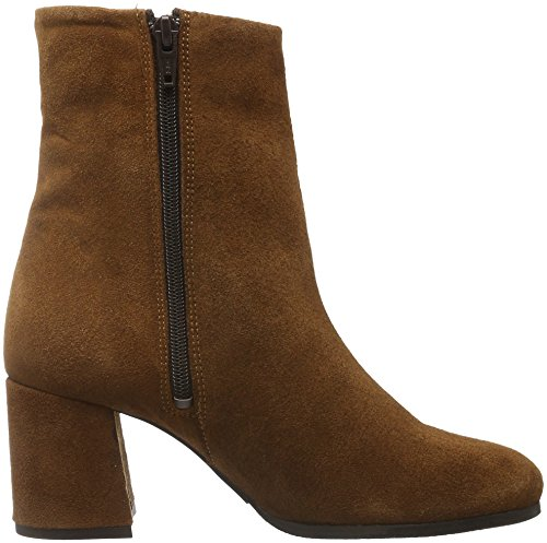 BIANCO - Full Suede Boot Son16, Stivali bassi con imbottitura leggera Donna Marrone (Braun (Light Brown/24))
