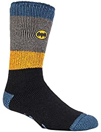 Heat Holders Les hommes et les garçons Marvel chaussettes anti-dérapantes thermiques chaussettes