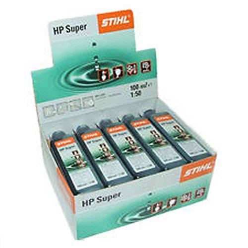 Stihl 07813198052HP Super 10Stück Kaffeepads Öl für Motoren 2Zeit und 4-mix (Zeit-takt-motoren)