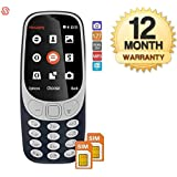 Supreno A3310 Camera Multimedia Dual Sim Mobile Phone (12 Months Warranty)