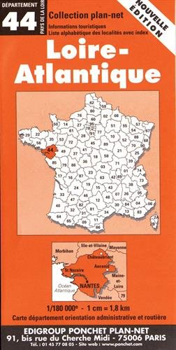 Carte routière : Loire-Atlantique