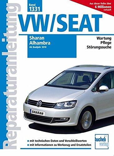 Preisvergleich Produktbild VW Sharan / Seat Alhambra ab Bj. 2010 (Reparaturanleitungen)