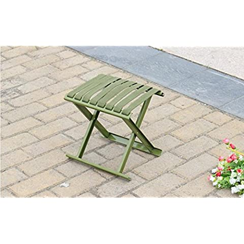 ZZP Engrosamiento militar Mazar al aire libre Pesca taburete portable plegable taburete/Banco/bosquejo/tren en sillas plegables