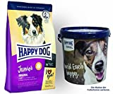 Happy Dog Young Junior Original 1 x 10 kg + Happy Dog Futtertonne 20 Liter