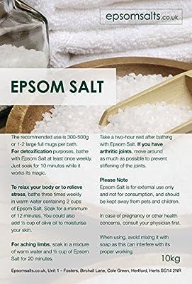 Epsom Salts Medical Grade, 10 kg