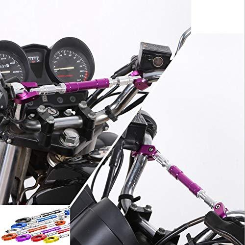 FastPro Support Universel pour Guidon de Moto pour Guidon 22 mm et 28 mm