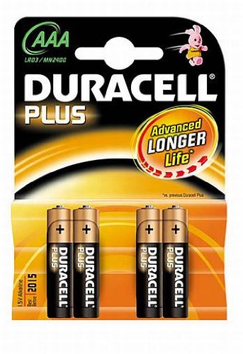 Pile aAA duracell plus power x 4
