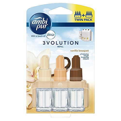 Price comparison product image Ambi Pur 3Volution Plug In Refill Twin Pack Vanilla Bouquet 40 ml