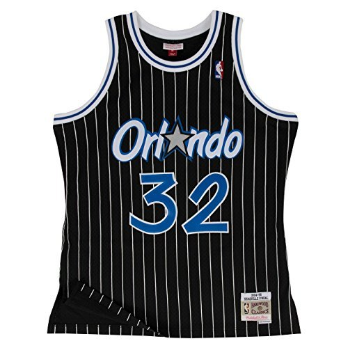 sports shoes 75def 83a18 Mitchell   Ness Shaquille O Neal  32 Orlando Magic 1994-95 Swingman NBA
