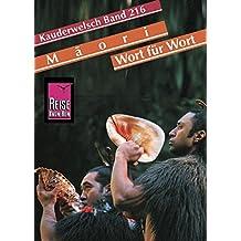 Kauderwelsch, Maori Wort für Wort