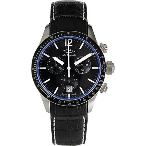 Reloj Cronógrafo para Hombre Rotary Swiss Made Quartz GS90152/04