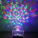 LED Landschaft proiettor Wirkung Licht Weihnachten mit Lichterkette Dekoration für Weihnachtsbaum, Schlafzimmer (bunt und weiß)