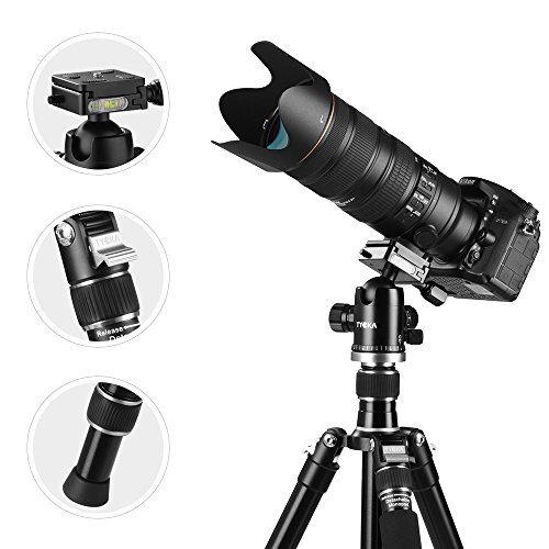 Tycka Trípode cámara Profesional 1670 mm Aluminio