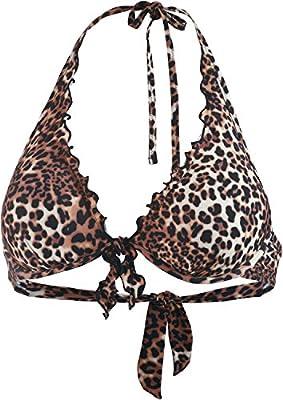 GUESS Removable Pad Halter, Bikini para Mujer
