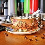 YMKCMC Becher Alte Porzellan Kaffeetasse Dish Suits Keramik Phnom Penh Nachmittagstee Tassen 220Ml C