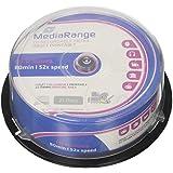MediaRange MR202 - CD-R, 700 MB, 80 min, velocidad 52x, paquete de 25