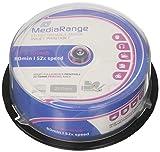 MediaRange MR201 CD-R Rohlinge (bedruckbar, 52x High-Speed, 700MB/80 min., 25-er spindle)