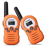 FLOUREON Twins Walkie Talkies 8 Channel PMR446MHZ Two Way Radio for Kids Up