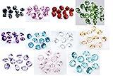SiDeSo® Dekosteine 50 Stück 20mm 2cm Diamanten Acryl Tischdeko Hochzeit hergestellt von SiDeSo®