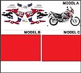 Emanuel & Co Kit adesivi Decal stikers Honda XRV Africa Twin RD 07 750 1997 (Geben Sie Model A Oder B Oder C)