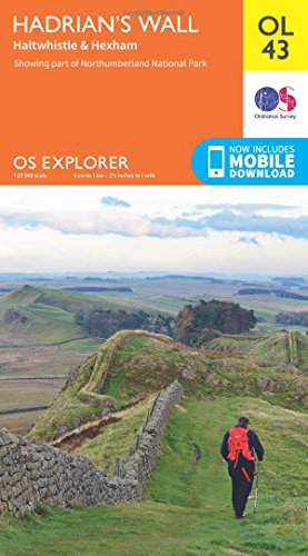 OS Explorer OL43 Hadrian's Wall (OS Explorer Map) Test