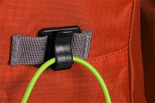 Spalle alpinismo uomini e donne esterni borse 40L viaggi trekking zaino ( Colore : Nero , dimensioni : 40L ) Arancia