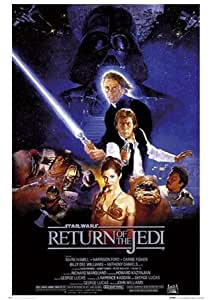 Return of the Jedi Original Movie Score Star Wars Movie 64x90cm Poster
