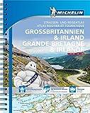 Michelin Straßenatlas Großbritannien & Irland mit Spiralbindung: Maßstab 1:300.000 (MICHELIN Atlanten) -