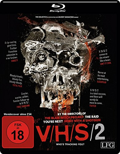 V/H/S 2 - Who's tracking You? [Blu-ray]