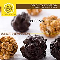 The Crunch Box Chocolate & Caramel Sweet Popcorn (Pack of 2) 200 GMS