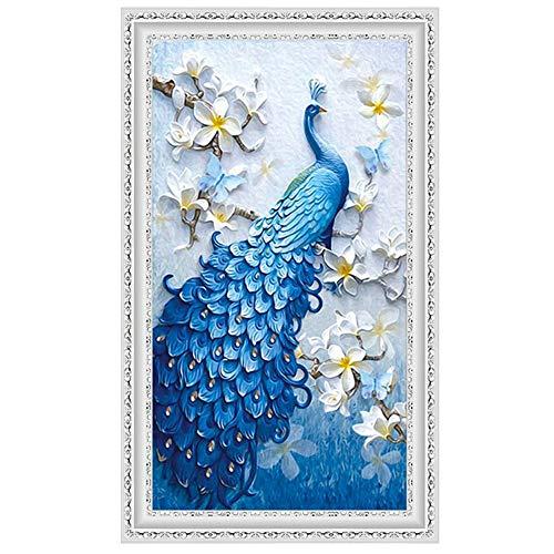 �lde DIY 5D Diamant Gemälde nach Zahlen Kits, Kristall Strass Diamant Stickerei Gemälde Bilder Kunst Handwerk für Zuhause Wanddekoration S ()