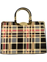 Gallantry-Collection Spéciale Grand Sac Vernis Rigide femme