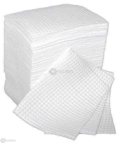 100-x-peso-medio-bonded-e-perforato-olio-solo-assorbente-boxed