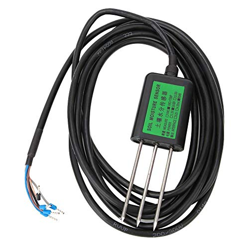 Pasamer 2 in 1 Funktion 4-20mA Bodenfeuchtesensor Bodentemperatur-Feuchtetest-Tool