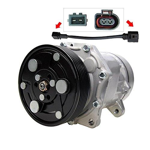 Kompressor Klimaanlage - 4 3 Eckigen Stecker