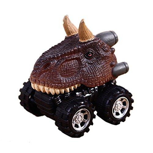 zcsmg Kinder Creative Mini Dinosaurier Spielzeug niedliches Educational Auto Spielzeug spielen Great Weihnachten Halloween für Kinder, plastik, Ngau Tau Dragon, 6.5*5*6cm