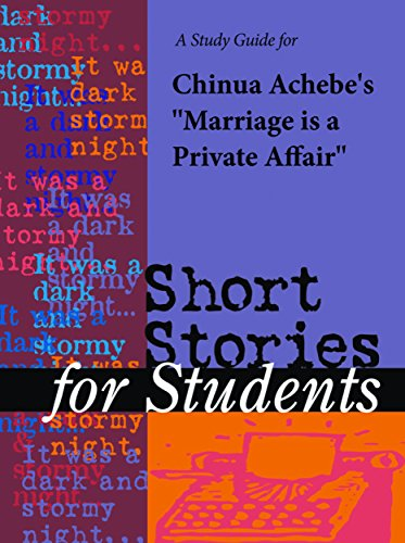 A study guide for chinua achebes marriage is a private affair a study guide for chinua achebes marriage is a private affair short stories fandeluxe PDF