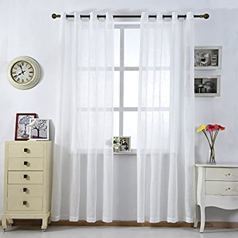 Cortinas cortas para ventanas dormitorio empapelado en for Cortinas cortas