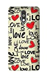Hamee Printed Hard Back Cover / Case for Xiaomi Redmi Note 3 Love Pattern 1