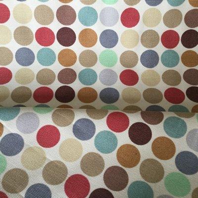 Spot Canvas Stoff–Spots creme–Baumwolle Duck Canvas–horcan02–von 100cm x 145cm–von Peter Horton–100% Baumwolle (Stoff-ente Canvas)