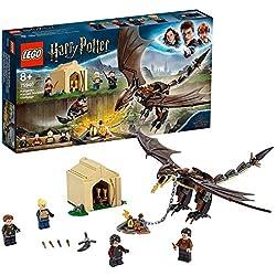 LEGO- Harry Potter La Sfida dell'Ungaro Spinato al Torneo Tremaghi Set di Costruzioni Ricco di Dettagli con 4 Minifigure, per Ragazzi +8 Anni e Appassionati della Saga, Multicolore, 75946