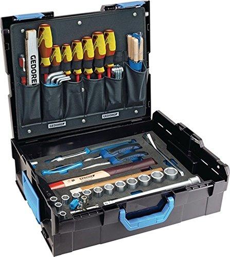 Preisvergleich Produktbild Werkzeugsortiment 58 teilig allg. Handwerkersortiment in L-Boxx