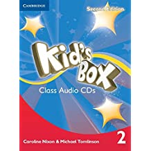 Kid's Box Level 2 Class Audio CDs (4)