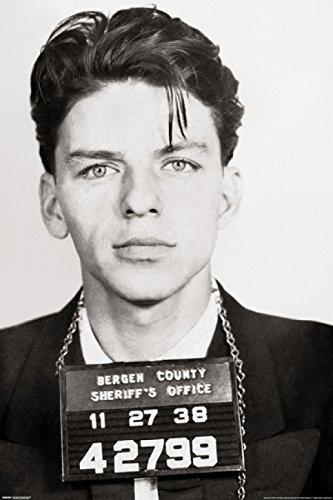 Sinatra Poster Frank (Frank Sinatra - Mugshot Poster (60,96 x 91,44 cm))