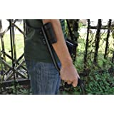 """Metal Detector """"Nugget"""" - 9.5 Inch Detection Plate, Water Resistant, Metal Type Recognition, Hard Carrying Case"""