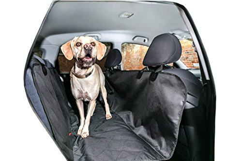 Luxury Back Dog Seat Cover and Hammock for Cars Waterproof Padded Protection