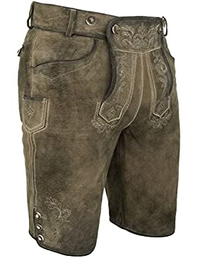 Michaelax-Fashion-Trade Spieth & Wensky - Herren Trachten Lederhose, Micha (009665-0247)