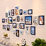 #5: WollWoll Mediterranean Spain Island Photos Wall Decoration Extra Large Polymer Photo Frame Set (232 cm x 1.6 cm x 99 cm)