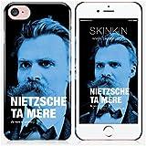 Coque iPhone 7 de chez Skinkin - Design original : Nietzsche par Fists et Lettres